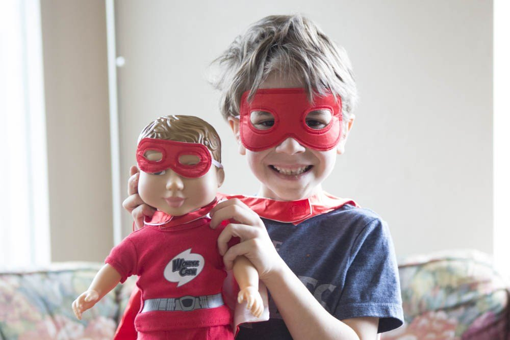 Wonder Crew Superhero Doll Review