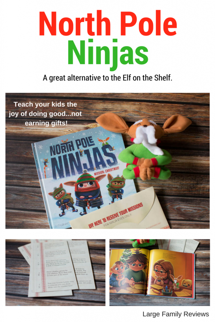 North Pole Ninjas Review: This book teaches kids to give.