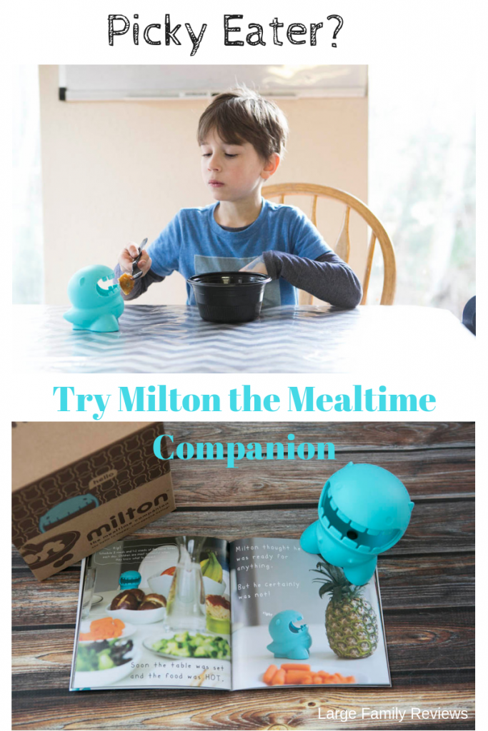 MILTON the mealtime companion is perfect for kids who struggle to eat.