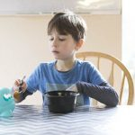 Milton the Mealtime Companion is perfect for picky eaters.